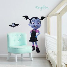 Disney Vampirina Peel and Stick Giant Wall Decals (5 Pieces)