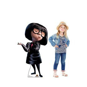 Disney's Incredibles 2 Edna Mode Cardboard Standee