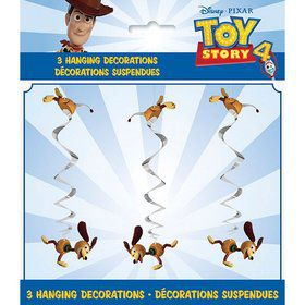Disney's Toy Story 4 Hanging Swirl Decorations (3)