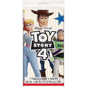Disney's Toy Story 4 Plastic Tablecover 54x 84