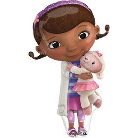 "Doc McStuffins 35"" Shape Balloon (Each)"