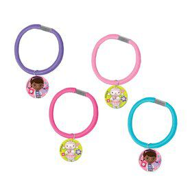 Doc McStuffins Hair Ponytail Holder Favors (4 Pack)