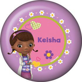 Doc McStuffins Personalized Button (Each)