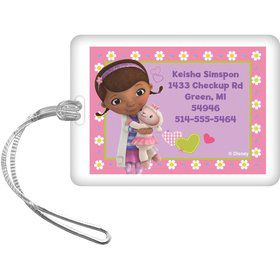 Doc McStuffins Personalized Luggage Tag (Each)