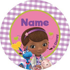 Doc McStuffins Personalized Mini Stickers (Sheet of 24)