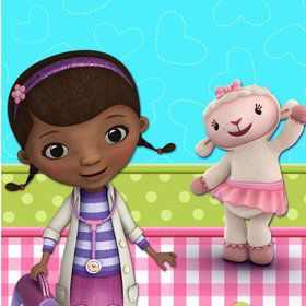 Doc McStuffins Table Cover (Each)