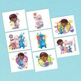 Doc McStuffins Tattoo Sheet (1)