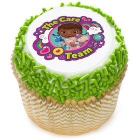 "Doc McStuffins Team Care 2"" Edible Cupcake Topper (12 Images)"