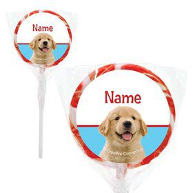 "Dog Party Personalized 2"" Lollipops (20 Pack)"