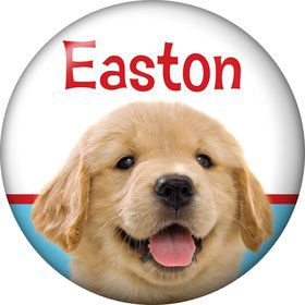 Dog Party Personalized Mini Button