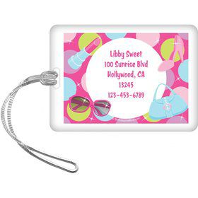 Doll Party Personalized Luggage Tag (each)