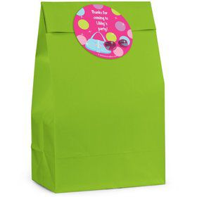 Doll Personalized Favor Bag (Set Of 12)