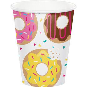 Donut Time 9 oz Cups (8 Count)