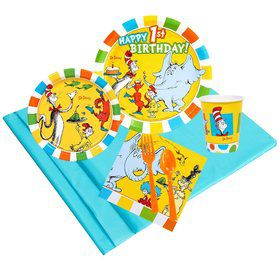 Dr Seuss 1st Birthday 24 Guest Party Pack