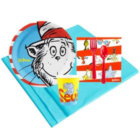 Dr Seuss 8 Guest Party Pack