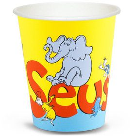 Dr. Seuss 9 oz. Paper Cups