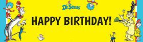 Dr. Seuss Personalized Banner