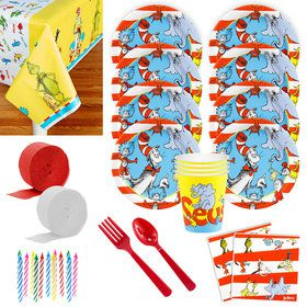 Dr. Seuss Deluxe Tableware Kit (Serves 8)