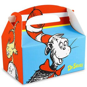 Dr. Seuss Empty Favor Boxes