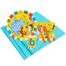 Dr Seuss Favorites 8 Guest Party Pack