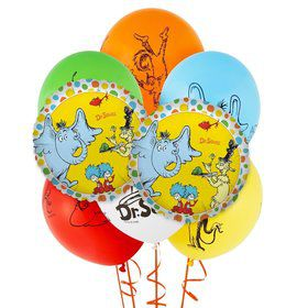 Dr. Seuss Favorites 8 pc Balloon Kit
