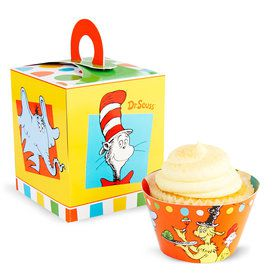 Dr. Seuss Favorites Cupcake Box