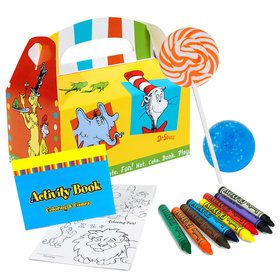 Dr. Seuss Favorites Deluxe Filled Favor Box Kit (For 8 Guests)