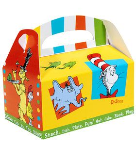 Dr. Seuss Favorites Empty Favor Boxes (4)