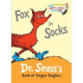 Dr. Seuss Fox in Socks