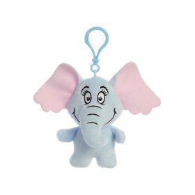 Dr. Seuss Horton Plush Clip On