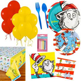 Dr Seuss Party Essentials Kit (Serves 16)