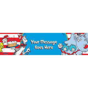 Dr. Seuss Personalized Banner (Each)
