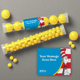 Dr. Seuss Personalized Candy Tubes (12 Count)