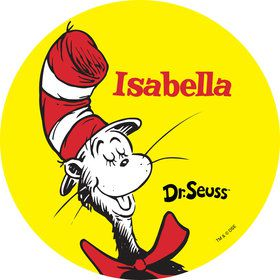 Dr. Seuss Personalized Mini Stickers (Sheet of 24)