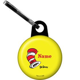 Dr. Seuss Personalized Zipper Pull (Each)