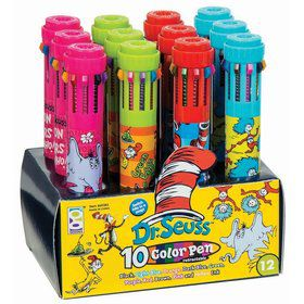 Dr. Seuss Ten Color Pen (12)