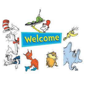 Dr. Seuss Welcome Go-Arounds Door Border