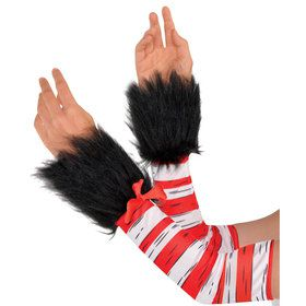 Dr. Seuss Womens Cat in the Hat Arm Warmers