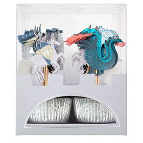 Dragon Knights Cupcake Kit (24)