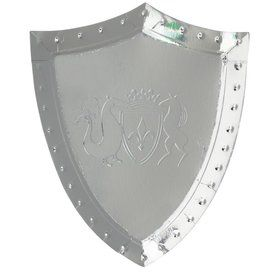 Dragon Knights Sheild Shaped Plates (8)