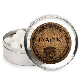 Dragon Whisperer Personalized Candy Tins (12 Pack)