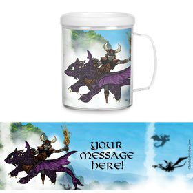 Dragon Whisperer Personalized Favor Mugs (Each)