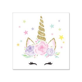 Dreamy Unicorn Beverage Napkins (20)
