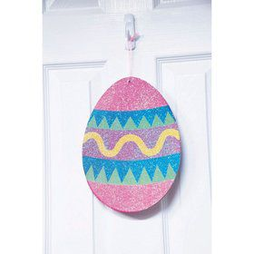 Easter Egg 2 Sided Plaque