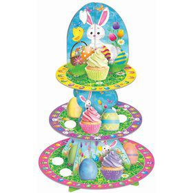 Easter Egg & Cupcake Stand