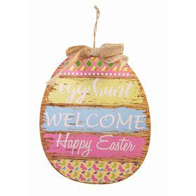 Easter Egg Hunt Plaque