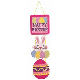 Easter Glitter Plaque