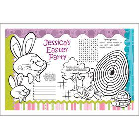 Easter Personalized Activity Mat (8 Pack)