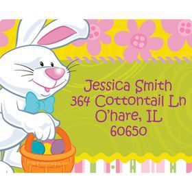Easter Personalized Address Labels (Sheet of 15)