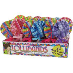 Elastic Bands Lolliband Favor (Each)